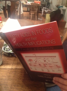 This book tells you almost all you need to know about fats.