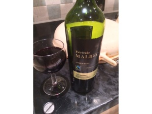 Argentinian Malbec is full of tannins