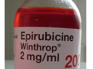 epirubicin is an anthracycline antibiotic chemotherapy agent which works by damaging DNA